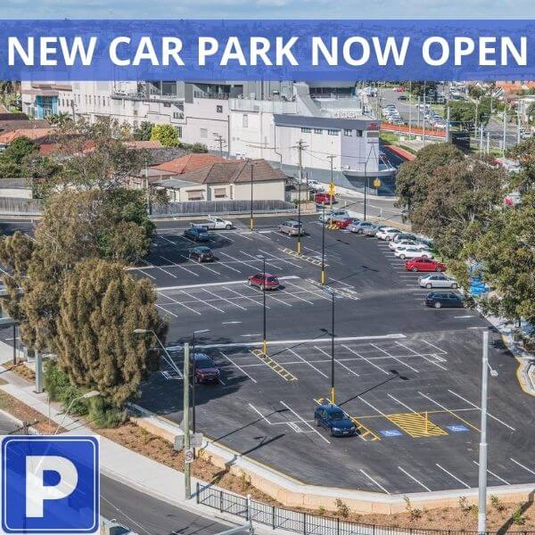New Car Park Now Open