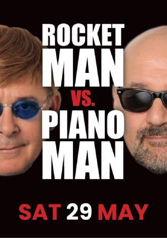 Rocket Man Vs Piano Man
