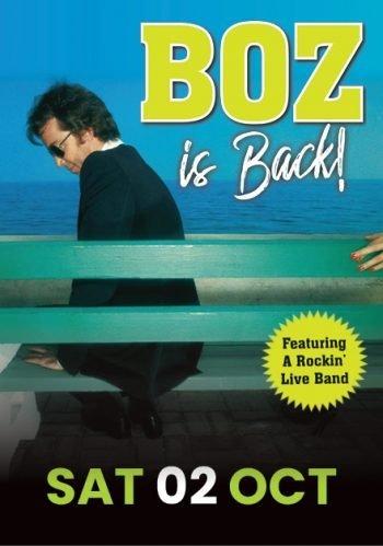Boz is Back